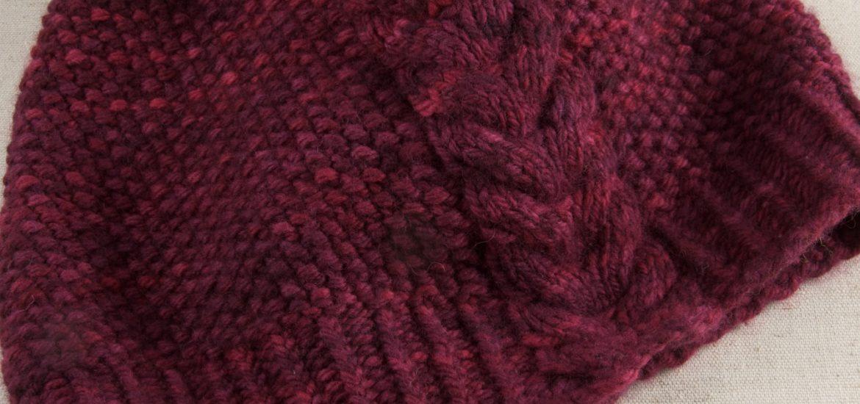 Kernmantle von Woolly Wormhead in Mollige, Farbe Wein.