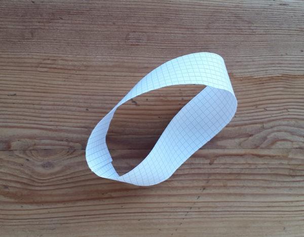 Moebiusstreifen aus Papier
